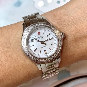 Michele Jet Way Diamond Watch • Limited Edition •